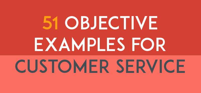 Resume Objective Examples For Customer Services  Best Career