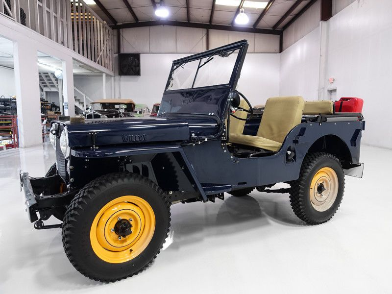 1946 Jeep Willys Cj2a Willys Jeep Willys Jeep Cj