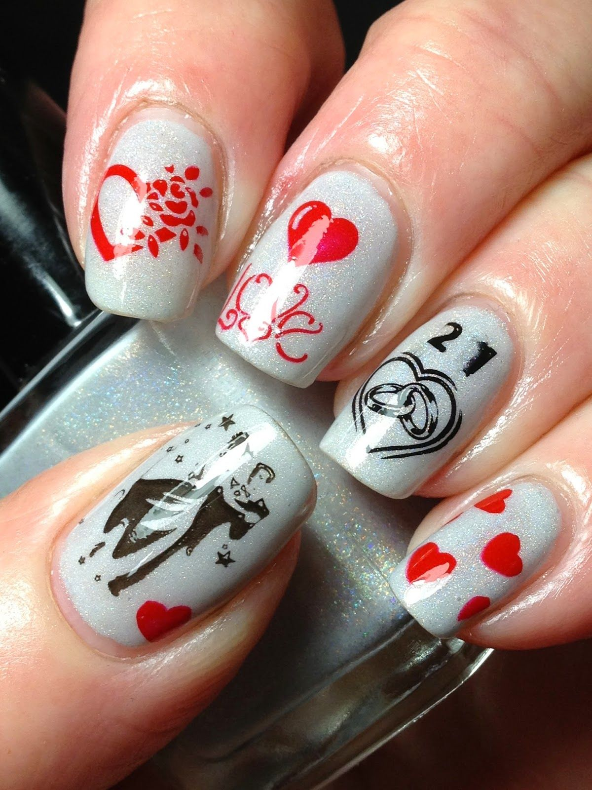 Canadian Nail Fanatic Anniversary Nails And Giveaway Reminders