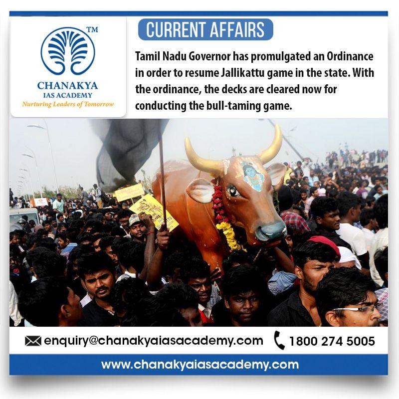 CurrentAffairs Tamil Nadu Governor has promulgated an