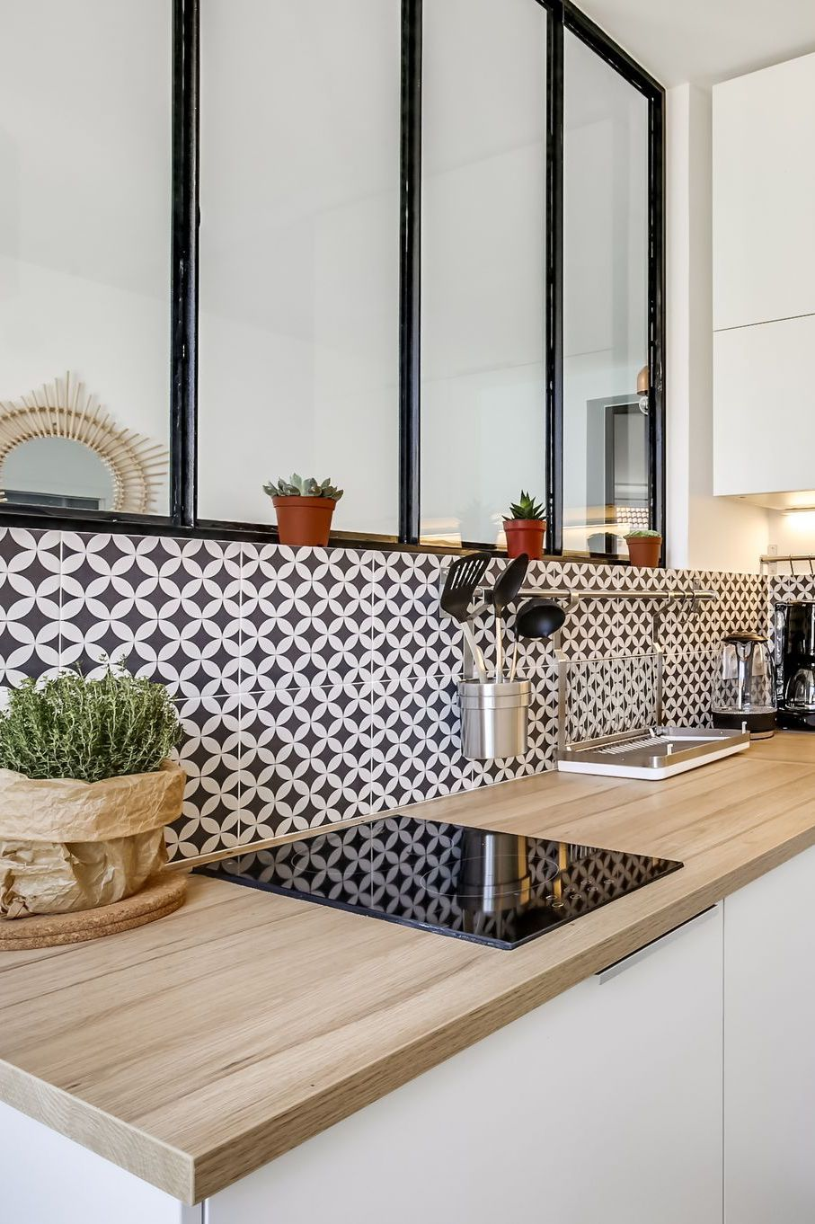Cuisine avec verrière | Home sweet home | Haus küchen, versteckte ...