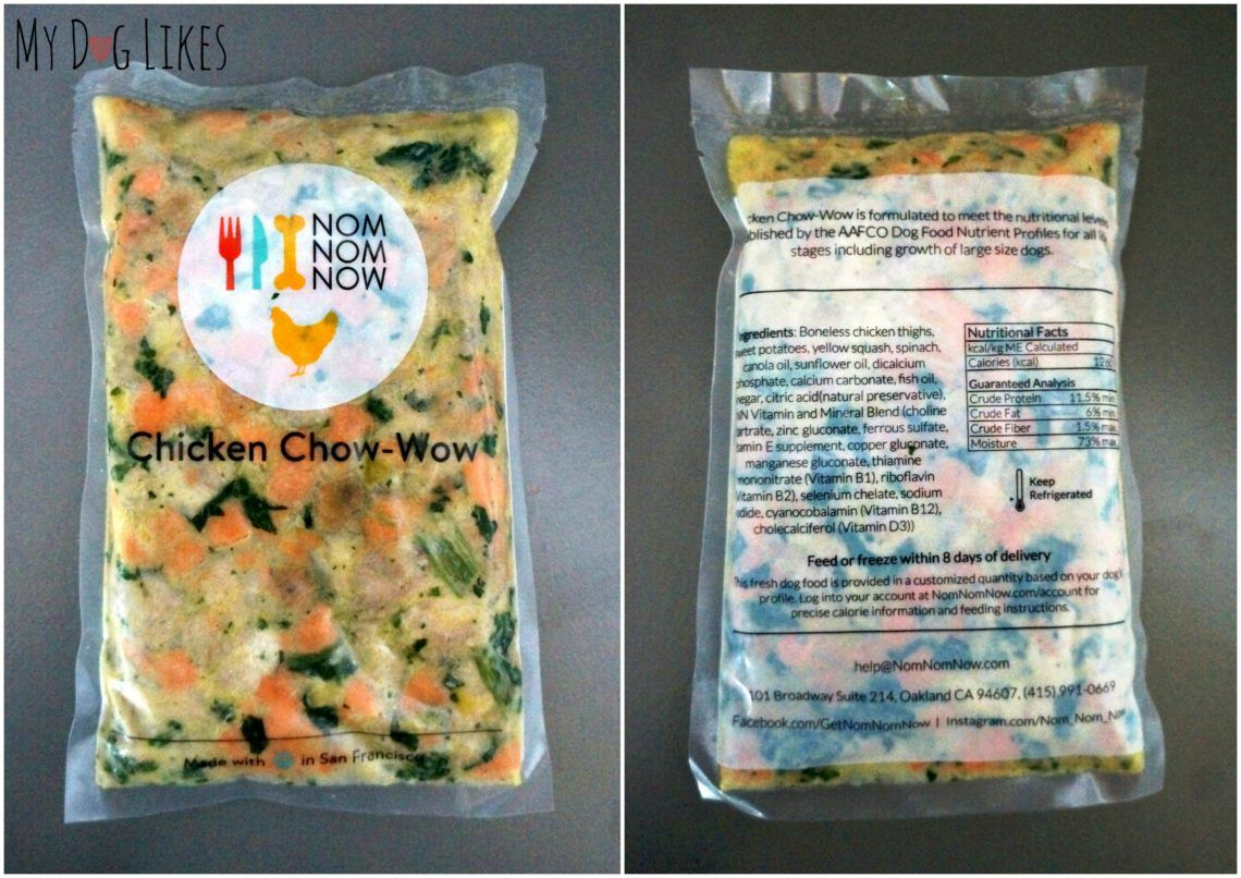 NomNomNow Review Seeing the Difference Whole Food Can