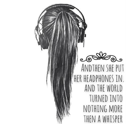 Earphones Quotes Google Search Memories Pinterest Music