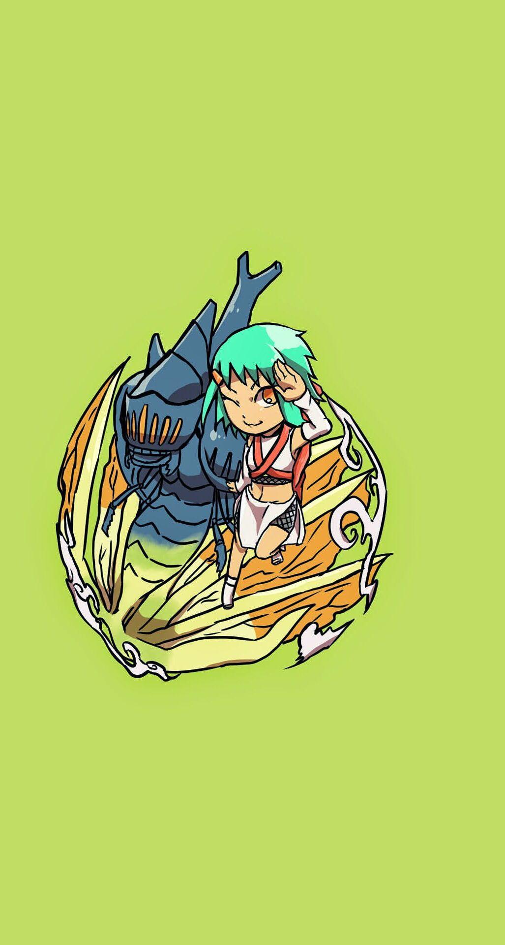 Seven Tails Chomei And Fuu Anime Naruto Naruto Shippuden