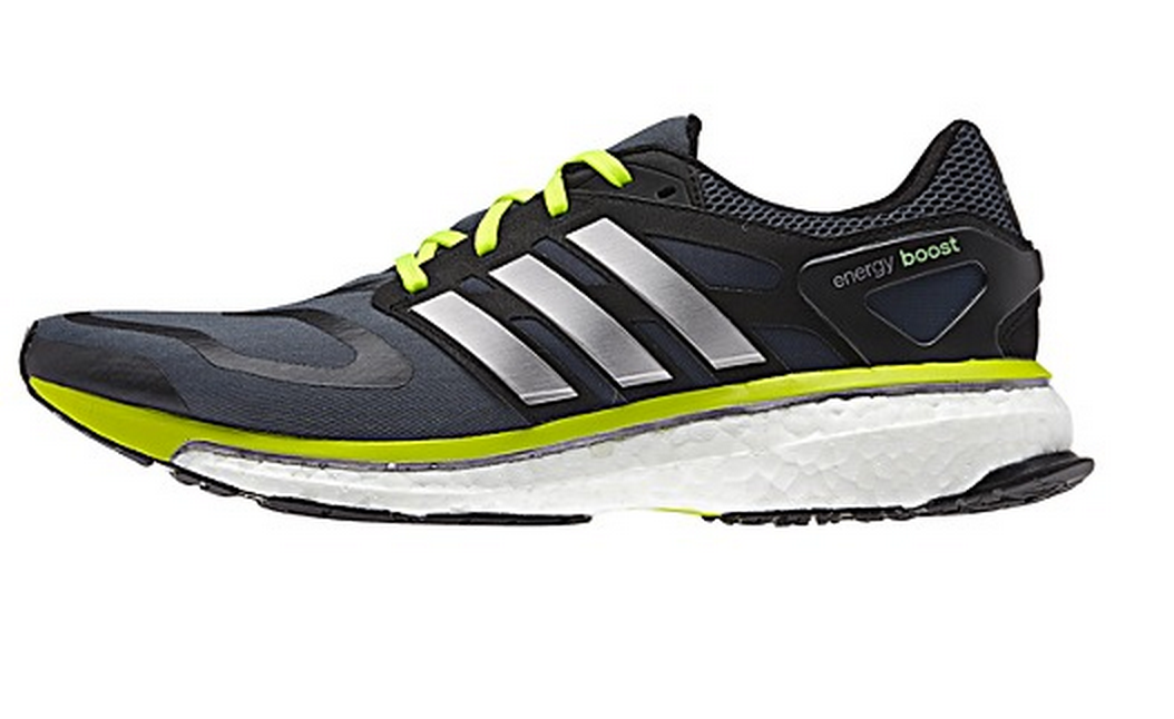 The Most Innovative New Running Shoe Of 2014 The Adidas Energy Boost Slashes Records And Keeps Run Adidas Boost Running Shoes Boost Shoes Adidas Running Shoes