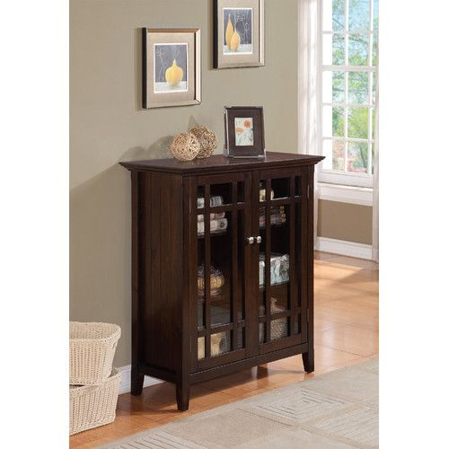 Burkhart 2 Door Accent Cabinet In 2020 Media Storage Cabinet Dinning Room Sets Simpli Home