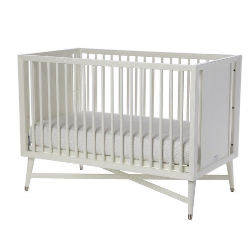 DwellStudio Mid-Century 3-in-1 Convertible Crib in White ...