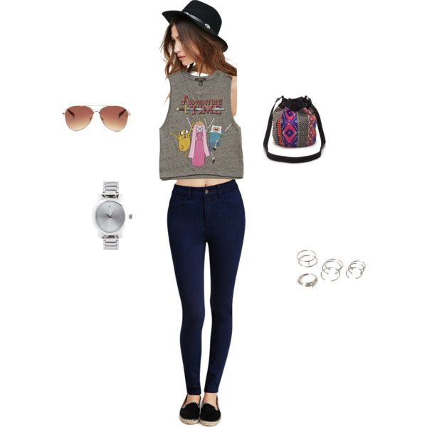 day time wear by tammy-chin on Polyvore featuring Forever 21