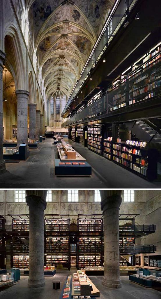 來自世界各地最美麗的20間書店   大人物
