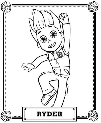 Paw Patrol Coloring Pages | Paw patrol coloring pages, Paw ...