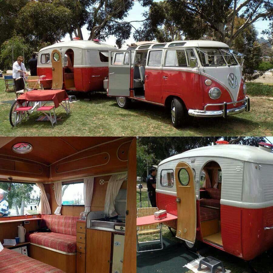 vw bus camper camping pinterest. Black Bedroom Furniture Sets. Home Design Ideas