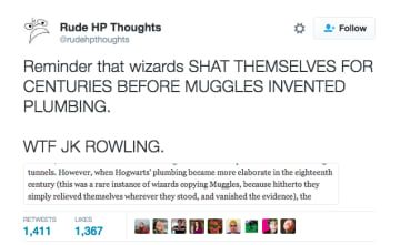 """21 """"Harry Potter"""" Tweets That Will Make You Say """"Lol, Muggles"""""""