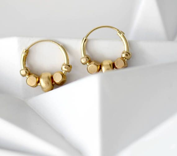 Tiny gold hoop earrings small gold hoops gold filled hoop earrings tiny gold hoop earrings small gold hoops gold filled hoop earrings beaded hoop earrings small hoop earrings easter jewelry gold hoops gold jewellery negle Image collections