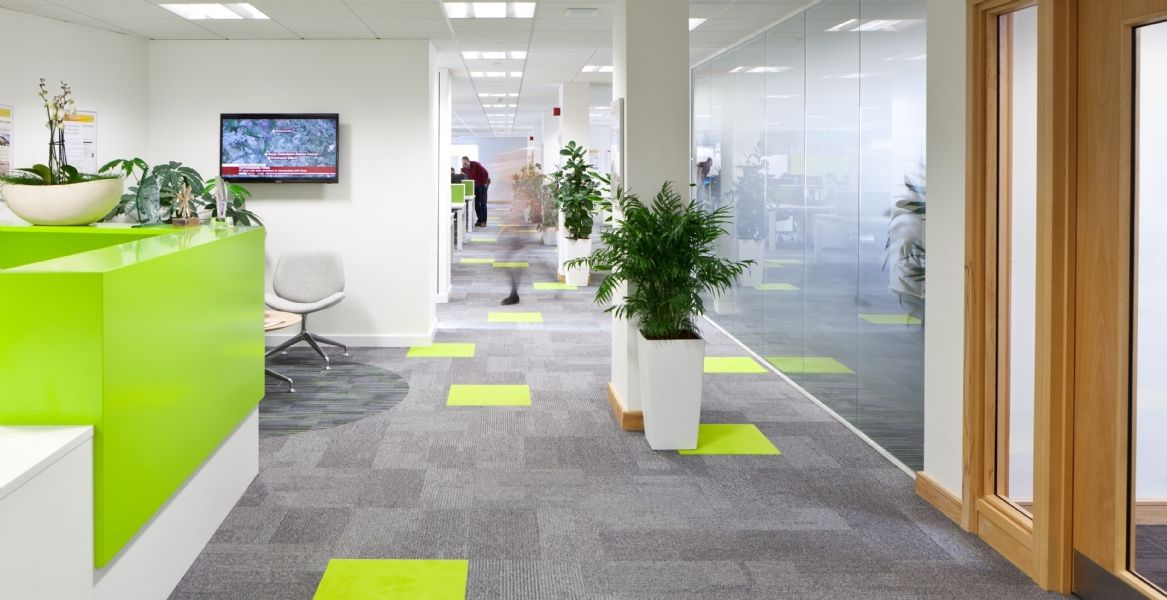 Designed by office interior design and build experts interaction uk