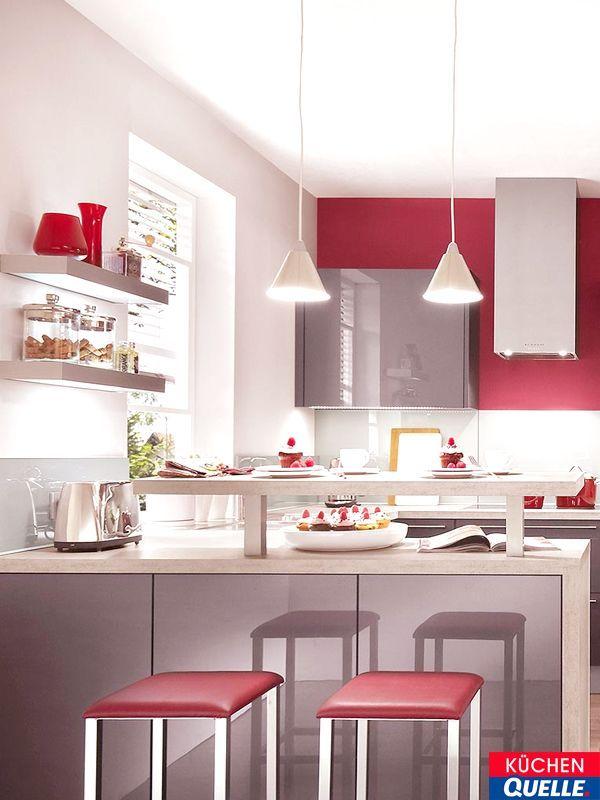 Zeitlos, elegant und repräsentativ Die Einbauküche Norina 7757 - apothekerschrank für küche