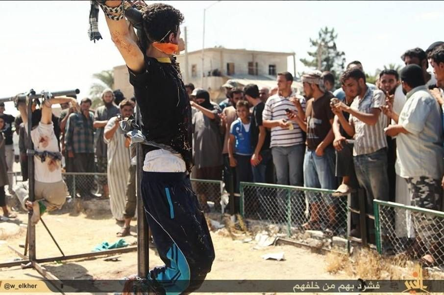 Pure Evil: ISIS Is Burying Alive And Crucifying Young Christian Children