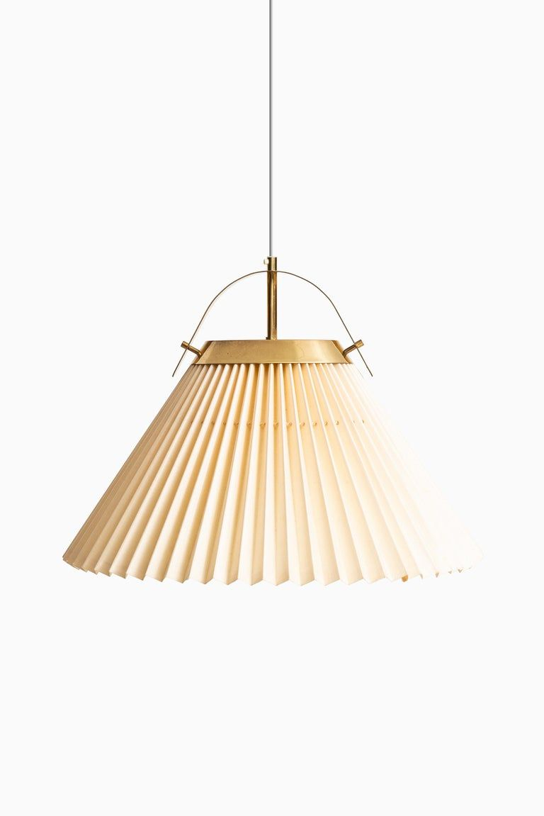 Ceiling Lamp In Brass Produced By Bergbom In Sweden For Sale At 1stdibs Ceiling Lamp Brass Ceiling Lamp Modern Pendant Lamps