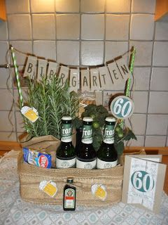 kreatives allerlei biergarten stampin 39 up karte 60 geburtstag geschenk beergarden meine. Black Bedroom Furniture Sets. Home Design Ideas