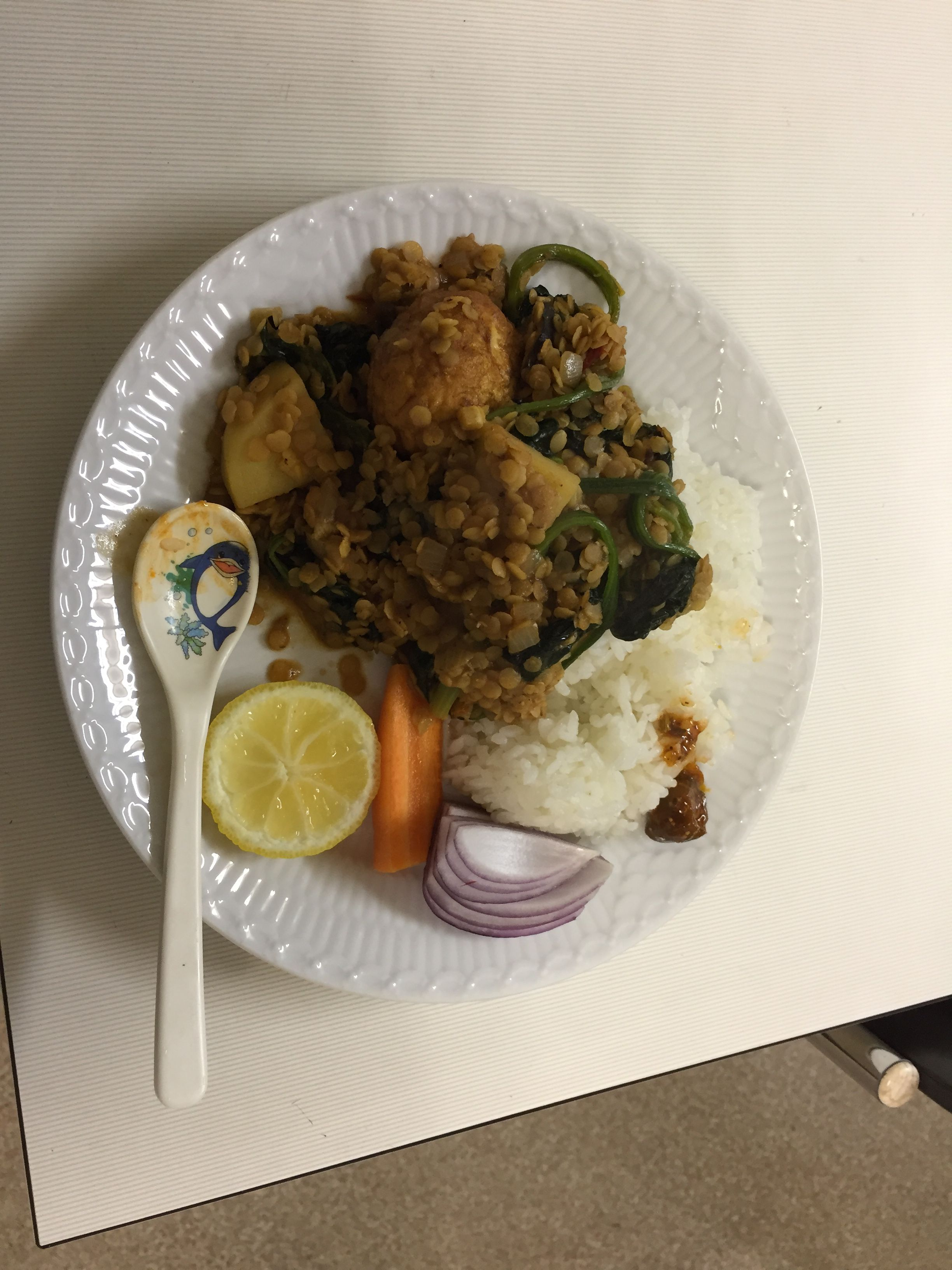 Simple house made food from Nepal