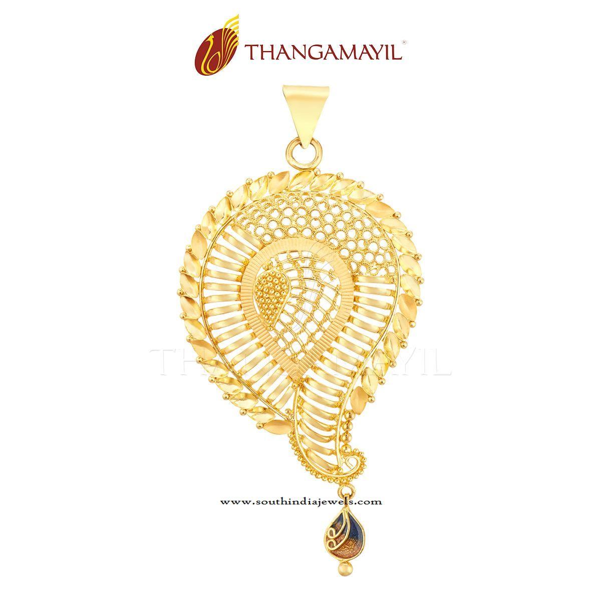 22k gold designer gold pendant gold pendant pendants and gold 22k gold designer gold pendant south india jewels mozeypictures Choice Image