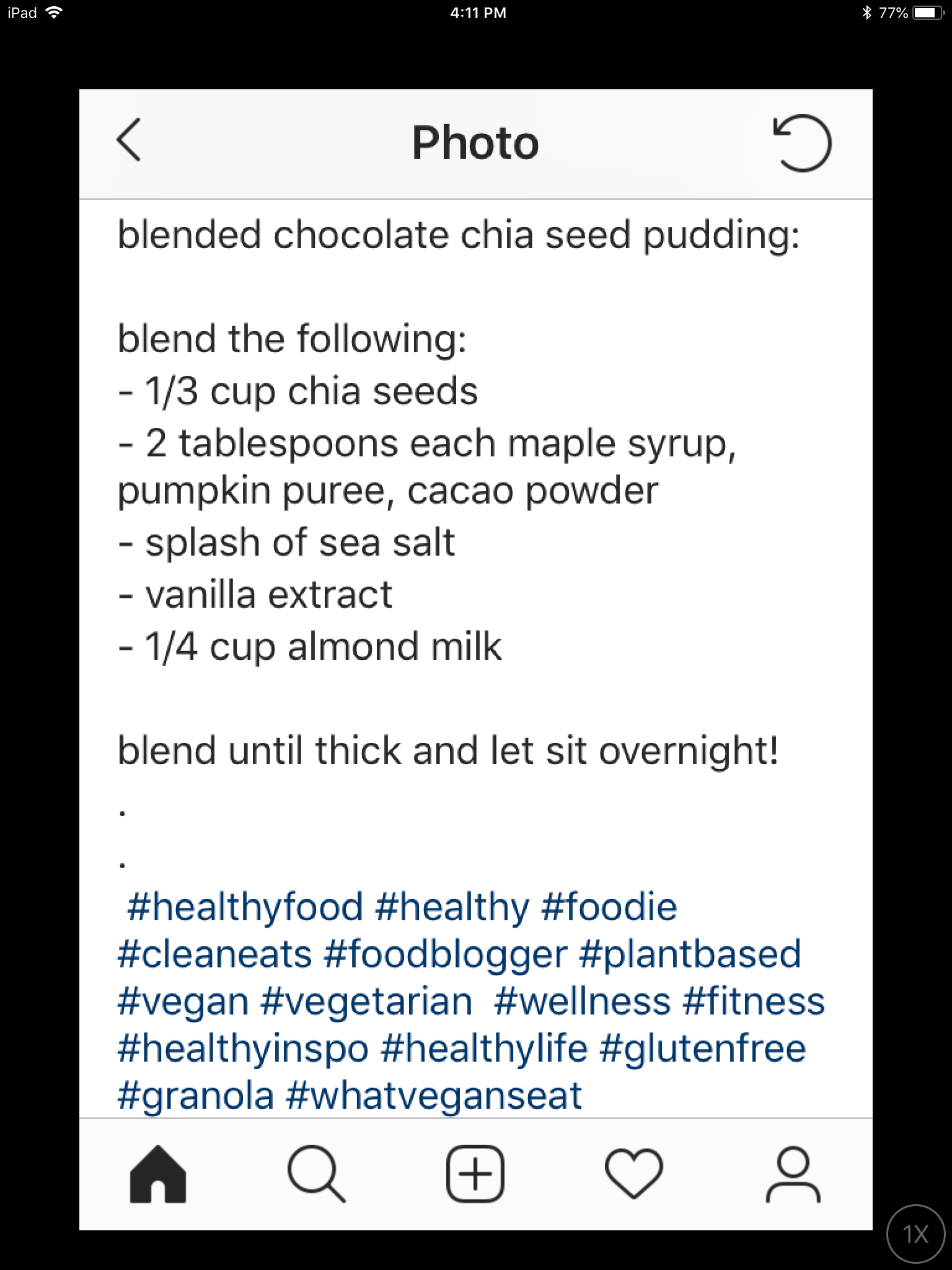 Chocolate chia seed pudding #chiaseedpudding Chocolate chia seed pudding #chiaseedpudding
