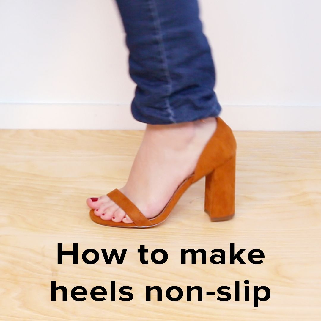 Have one less reason to fall in heels by making them non