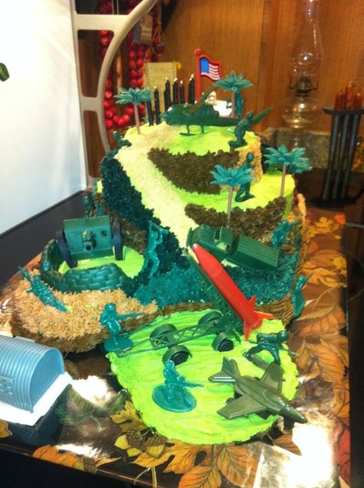 Army cake Cakes Pinterest Army cake Cake and Lane cake