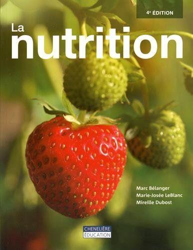 Télécharger Livre La nutrition PDF Ebook Gratuit FranceBooks