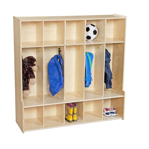 Wood Designs Contender 5 Section Seat Locker Wood Design Lockers Home Lockers
