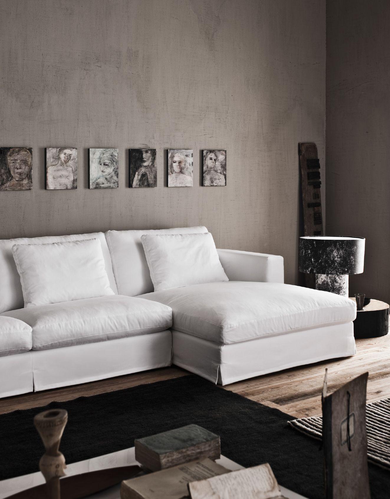 Karma, un divano che trova posto sia negli ambienti moderni che ...