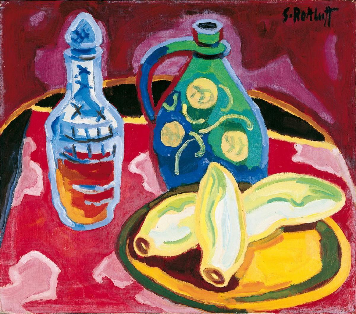 Stillleben Modern karl schmidt rottluff stilleben mit chicorée 1955 auktion 867
