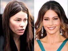 Celebrities sin maquillaje: antes y después, ¡impresionante!