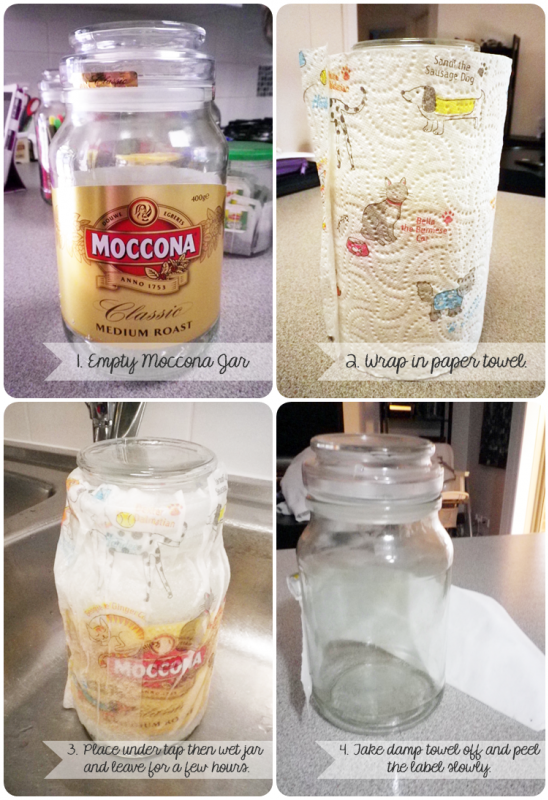 Moccona Jars How To Www Sarahvstheworld Com Jar Jar Diy Moccona