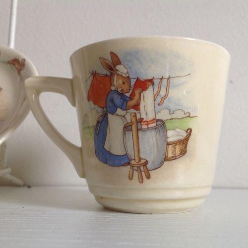 Royal Doulton Bunnykins- Tea Cup Barbara Vernon