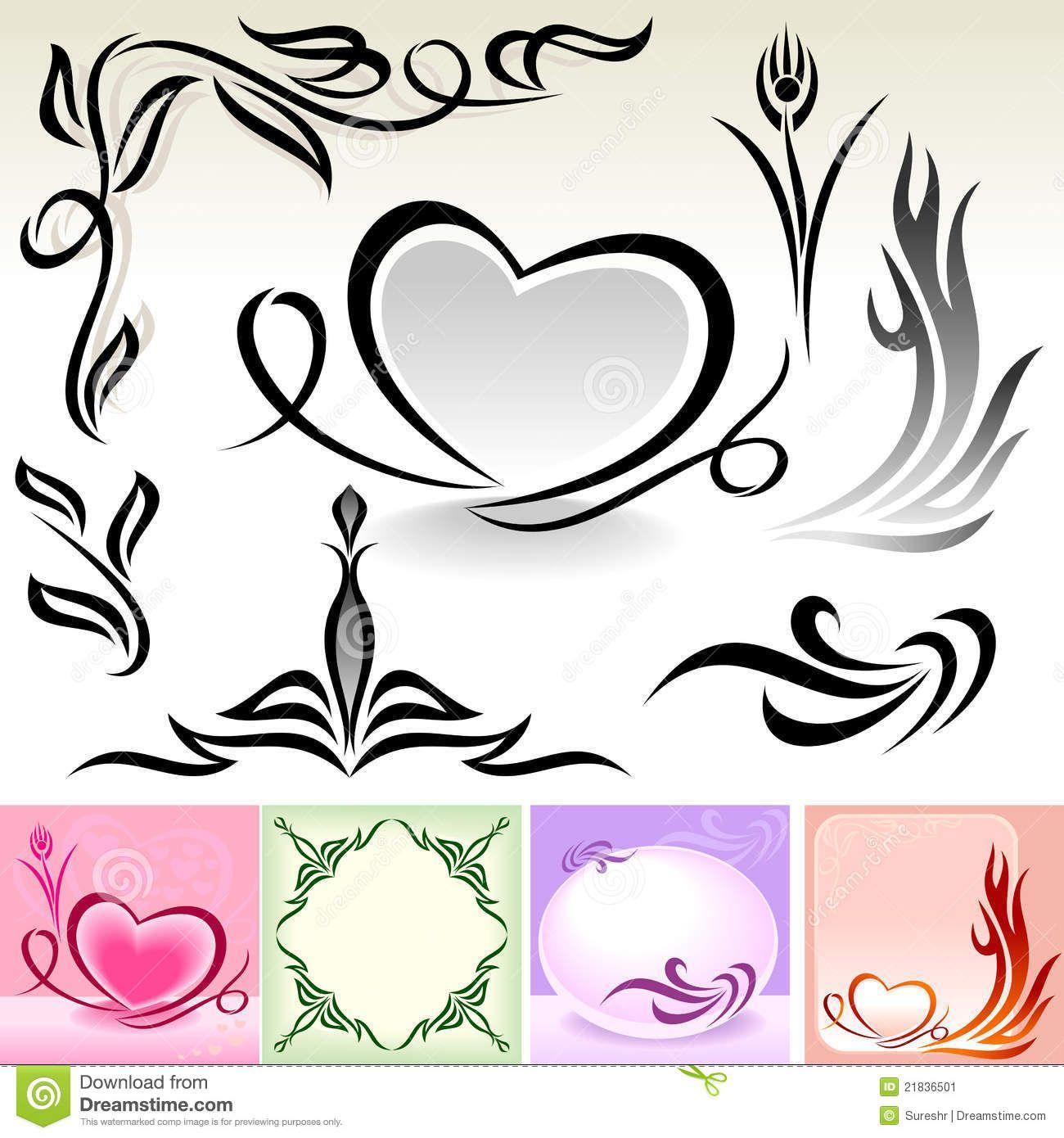 Natural calligraphic designs and decoration stock image image natural calligraphic designs and decoration stock image image sisterspd