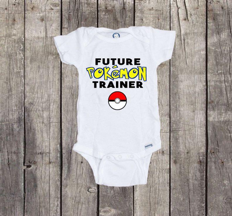 29ac6360 Pokemon Go, Pokemon Go Trainer, Future Pokemon Trainer, Pokemon Baby,  Pokemon Onesie