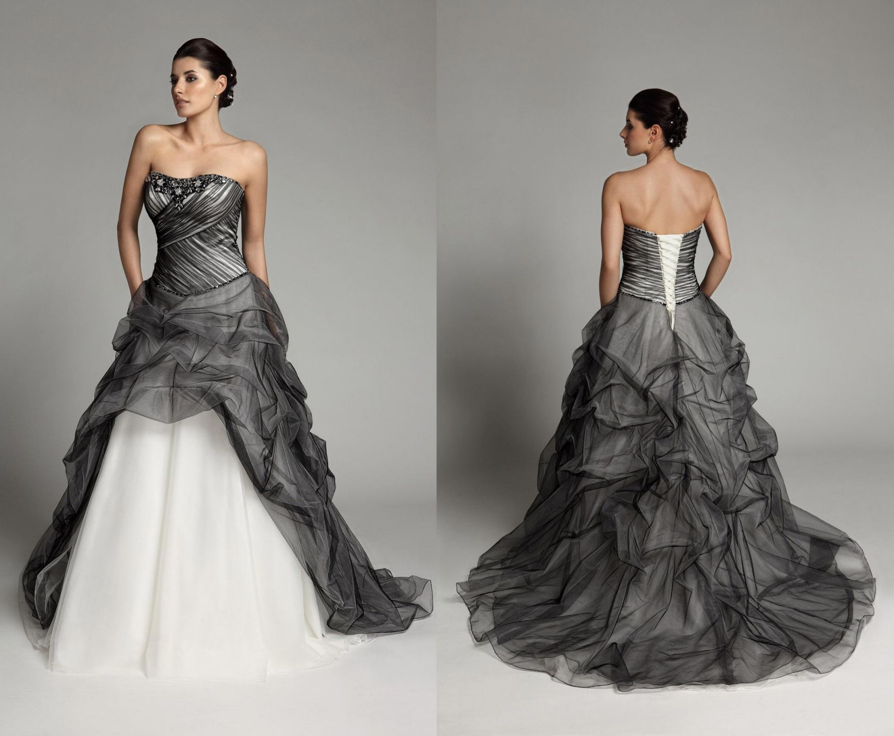 100+ White and Black Wedding Dresses for Sale - Country Dresses for ...