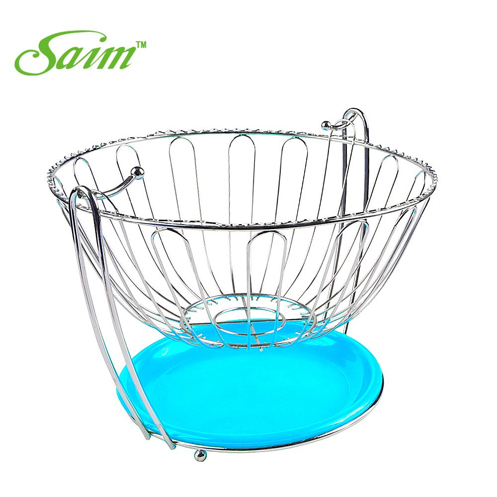 High Quality Stainless Steel Fruit Plate Fashion Swing Garnishes ...