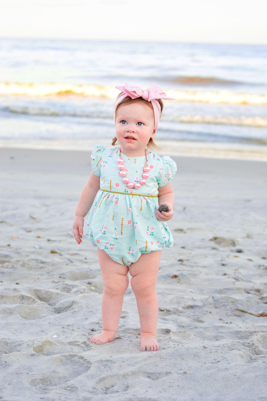 249603eb179b Girls bubble romper for Easter - bubble romper for toddler girls - baby  romper - toddler