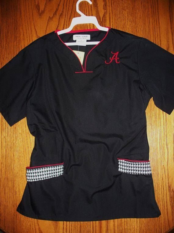 18fc78c5b9f alabama crimson tide scrub tops - Google Search | Work | Alabama ...