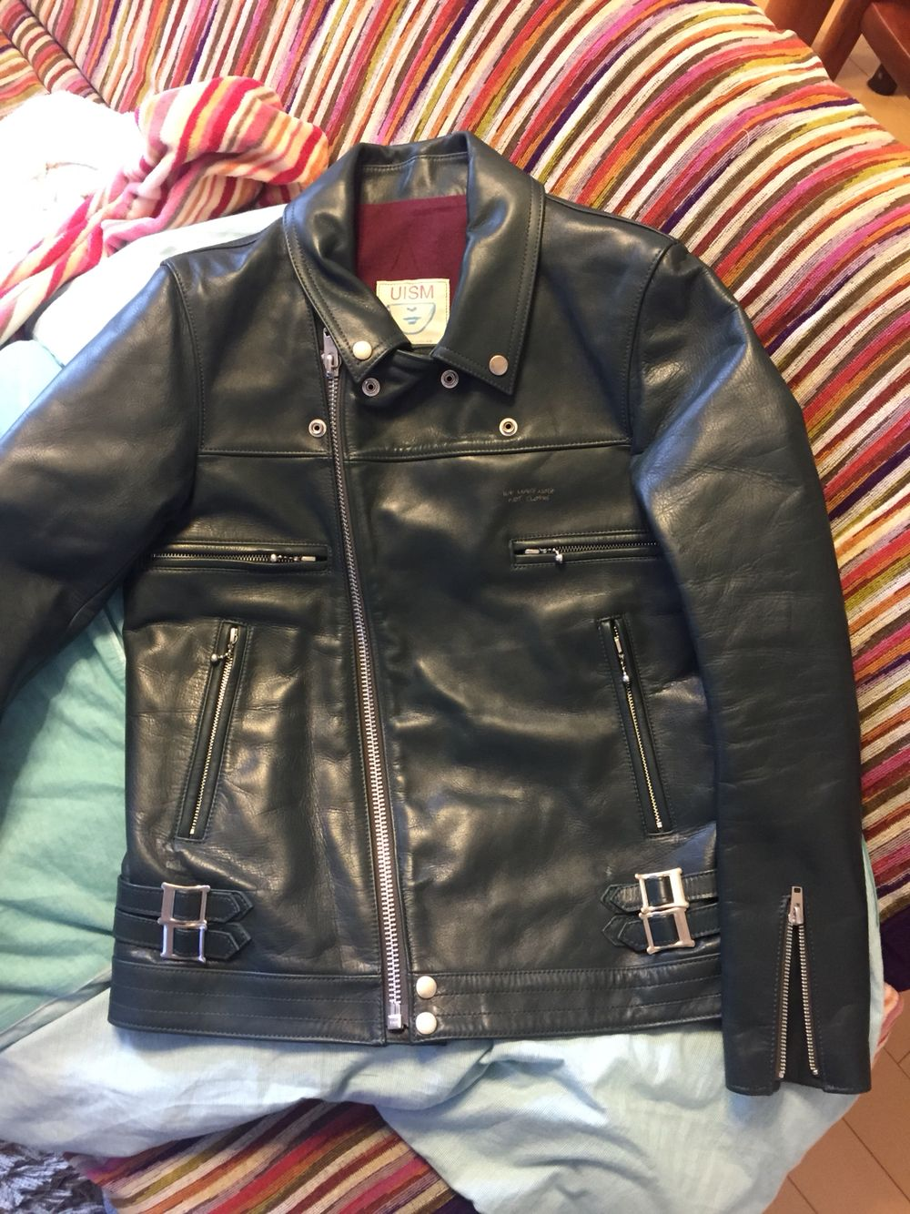 Undercover leather riders
