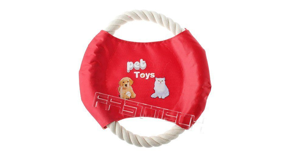 Cotton Rope Frisbee Flyer-Toy