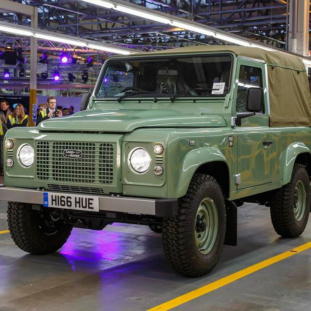 Introduced At The Amsterdam Motor Show In 1948 Land Rover