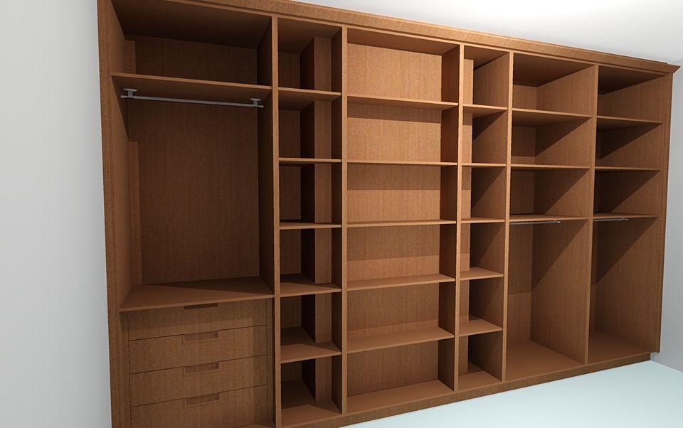 Wardrobe Internals Show How They Are Built Around A Hidden Chimney