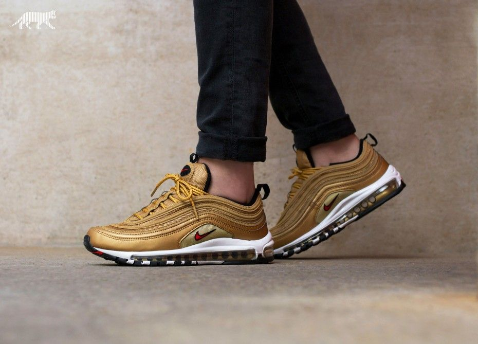purchase cheap fcc34 2fc68 Nike Air Max 97 OG QS (884421-700) Metallic Gold Pre Order and ...