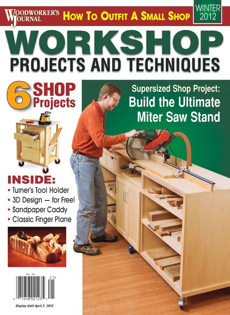 Woodworker S Journal Back Issue Winter 2012 Digital In 2020 Popular Mechanics Diy Woodworking Woodworking Projects Diy