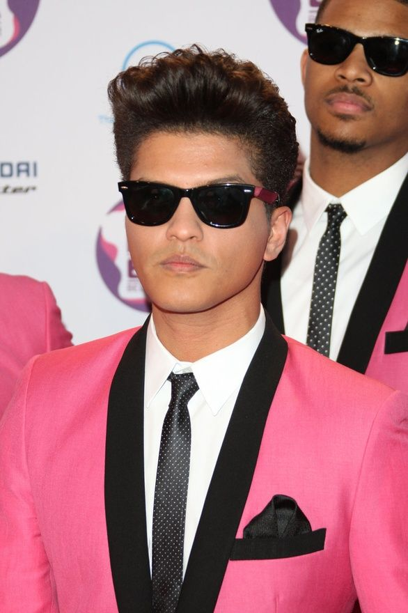 Bruno Mars - love him. i want to put him in my pocket and pull him out to sing whenever i want