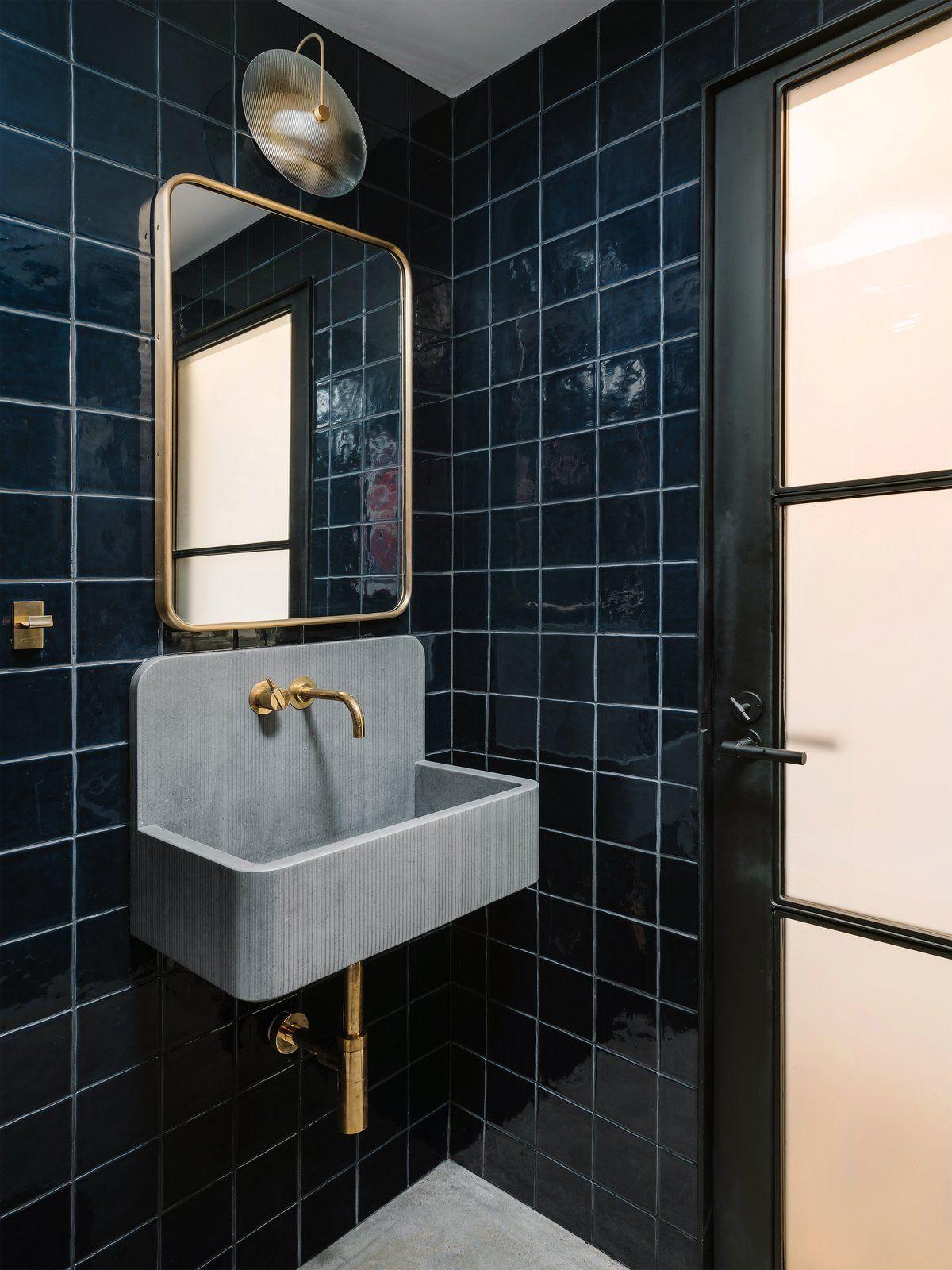 Eva St Loft Remodel By Chioco Design Beautiful Bathroom Designs Concrete Basin Beautiful Bathrooms