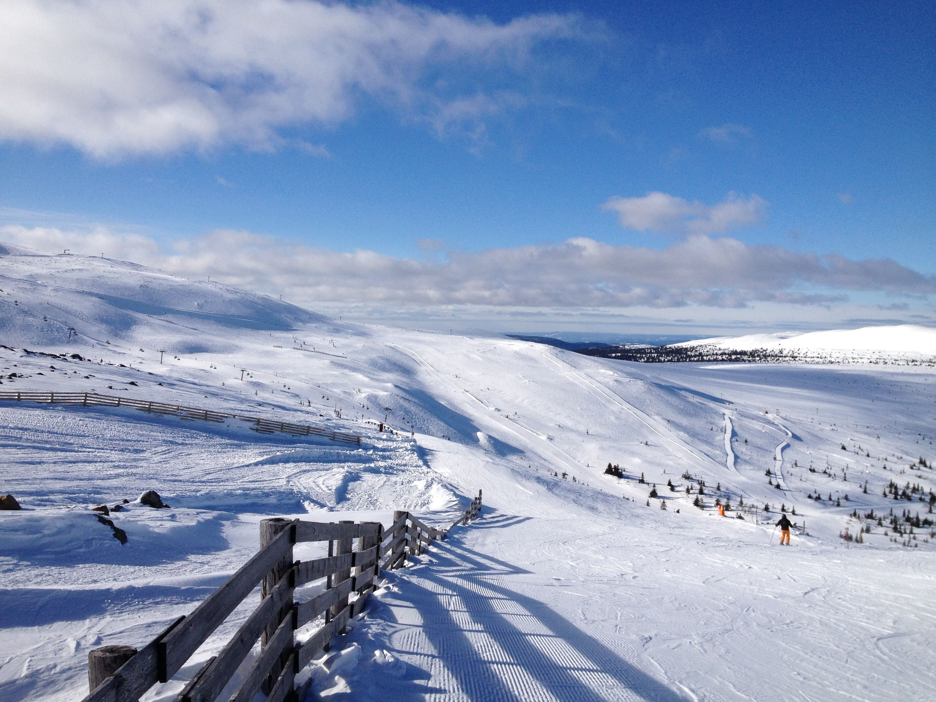 trysil is norway's largest ski resort with 66 slopes and 31 lifts