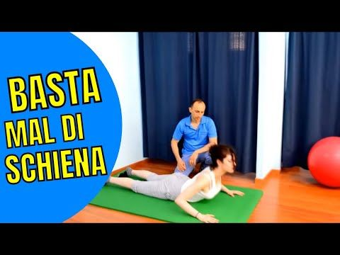 Gli esercizi per il mal di schiena hanno un ruolo..